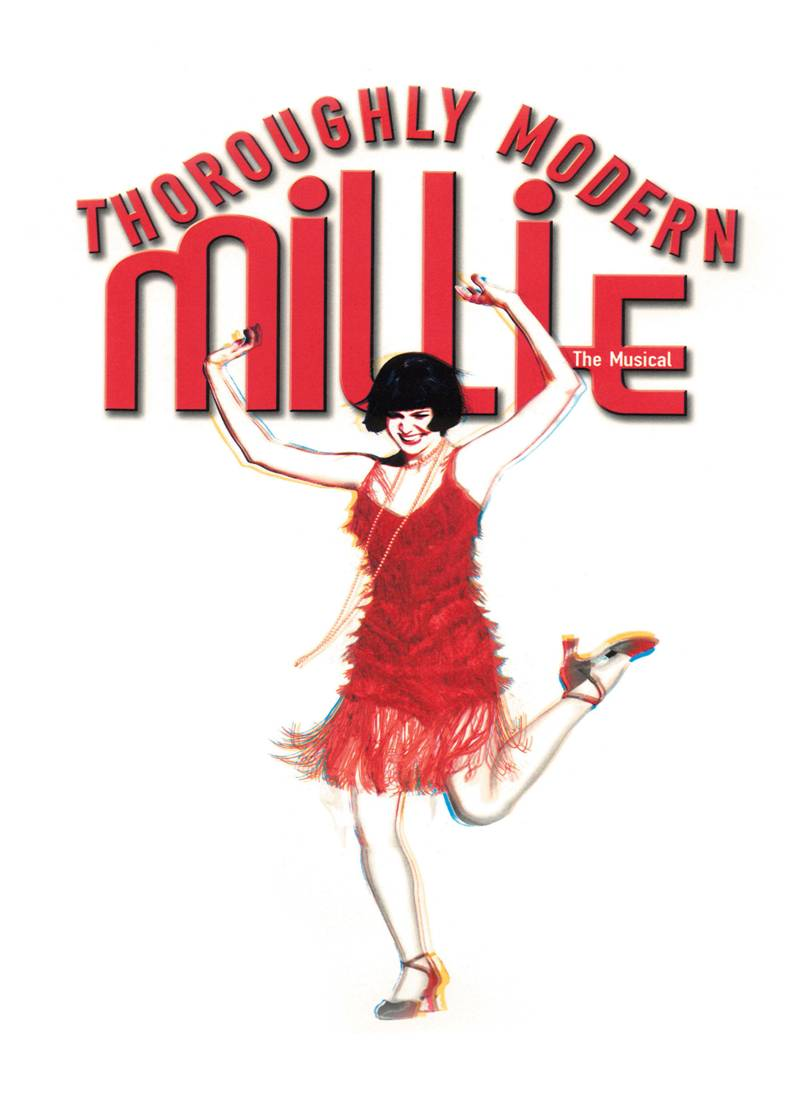 Drama clipart broadway musical. Thoroughly modern millie a