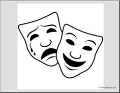 Drama clipart comedians. Respectedactor becoming a respected