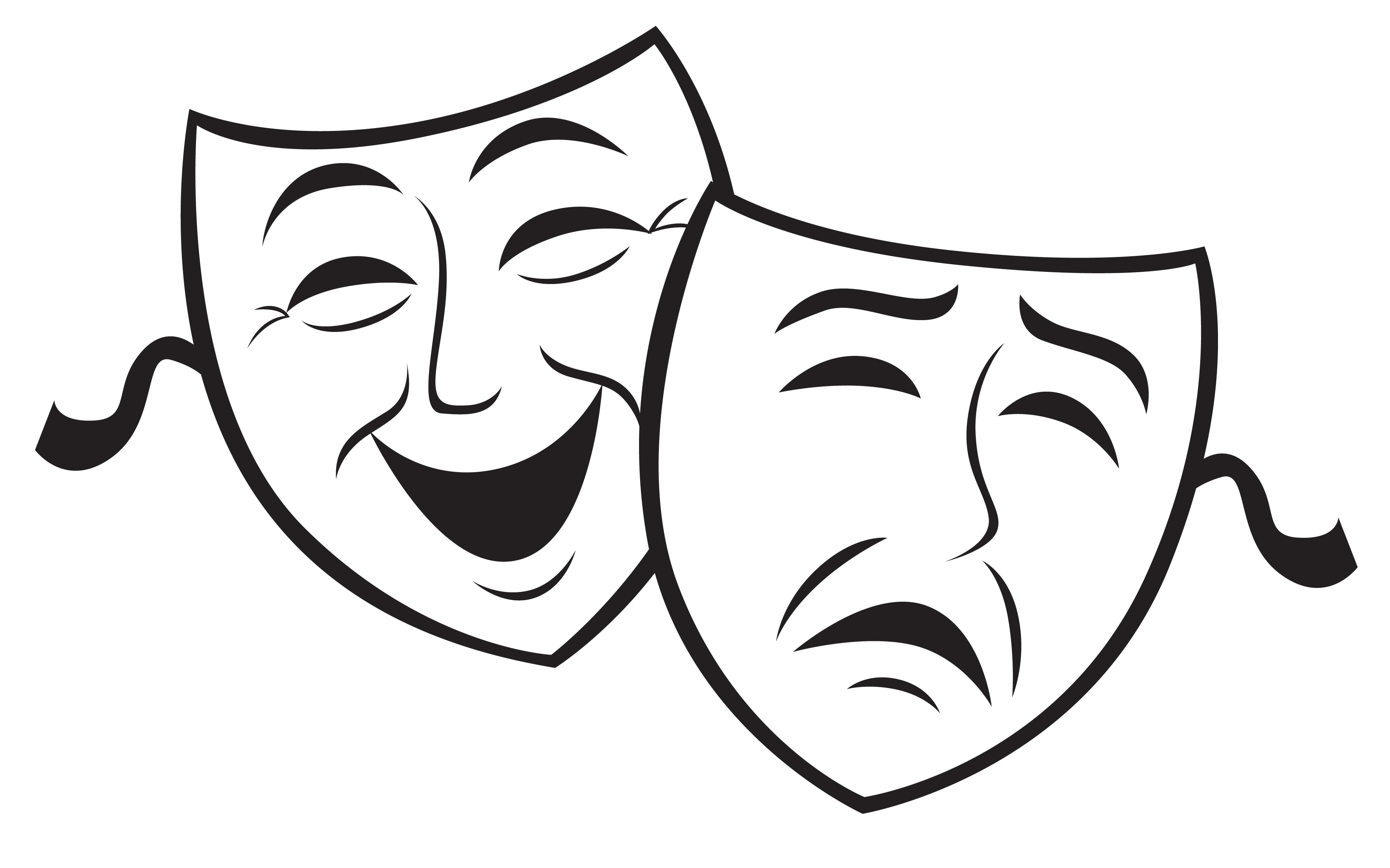 Drama clipart comedians. Images free download best