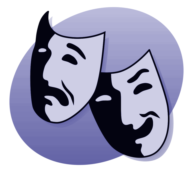 What is and how. Drama clipart drama performance library
