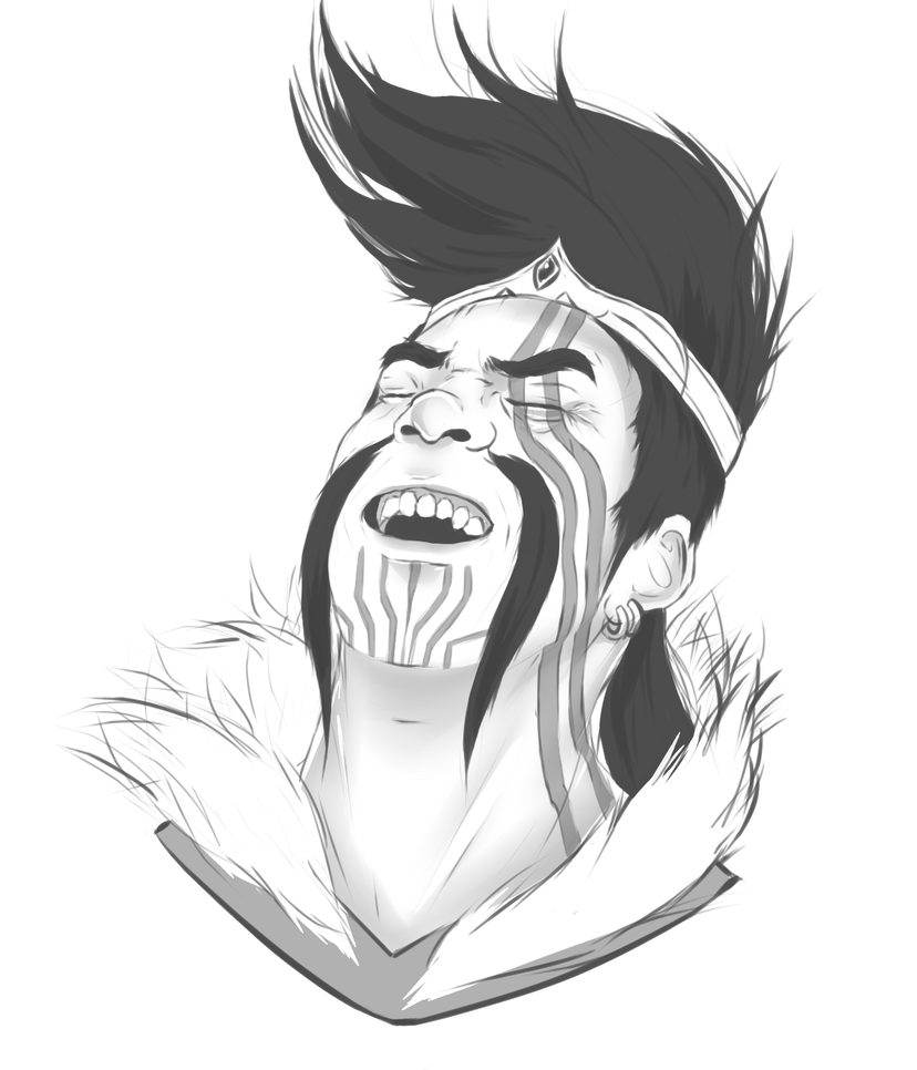 Draven drawing. Emote by ritayne on