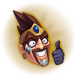 Draven drawing. New emote on pbe