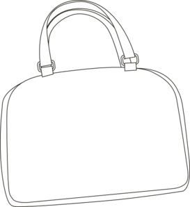 Draw clipart bag. Clip art at clker