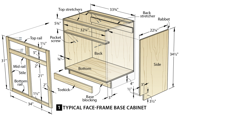 Drawing file four drawer. Make cabinets the easy