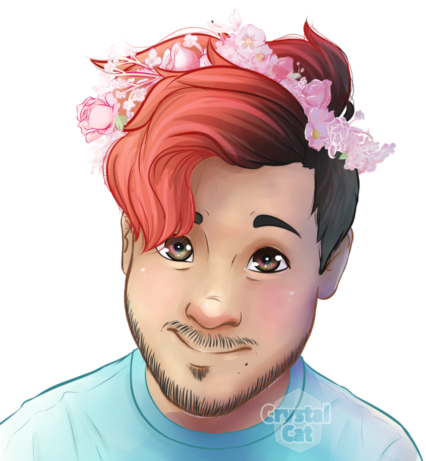 Drawing 2016. Mark flower crown by