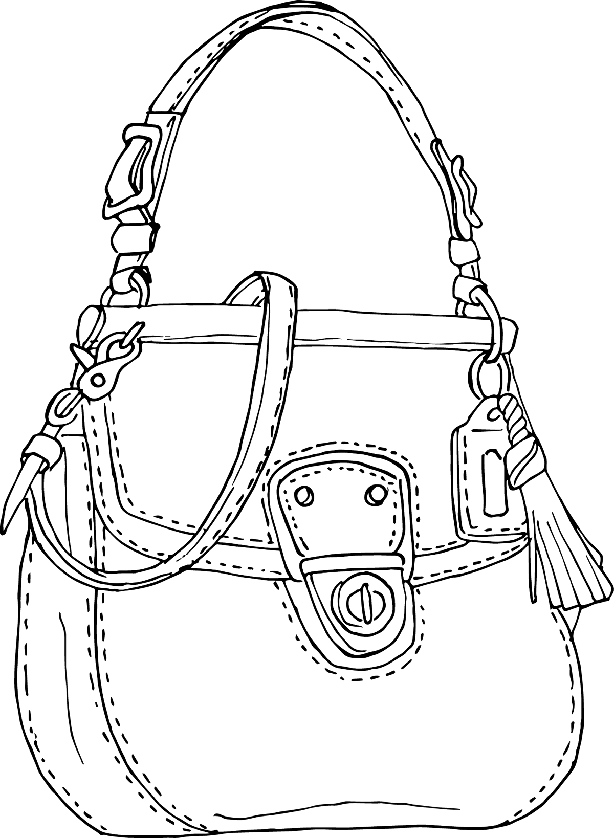 drawing accessory handbag