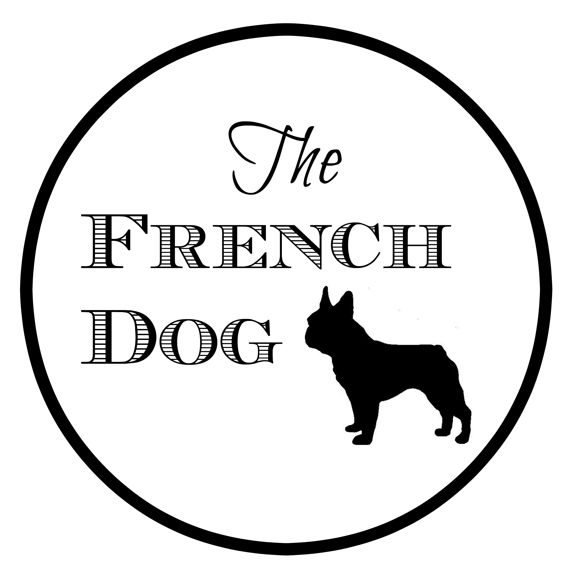 Drawing accessory dog. The french croppedfrenchdoglogopng