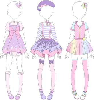 Drawing accessory clothes. Clothing accessories ect favourites