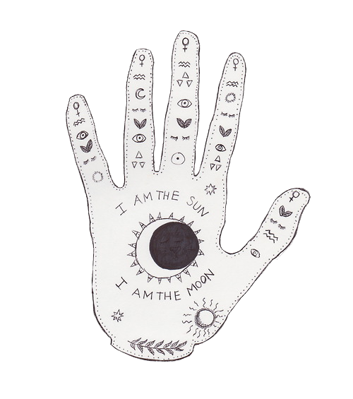 Drawing accessory hand. Grunge pinterest doodles and