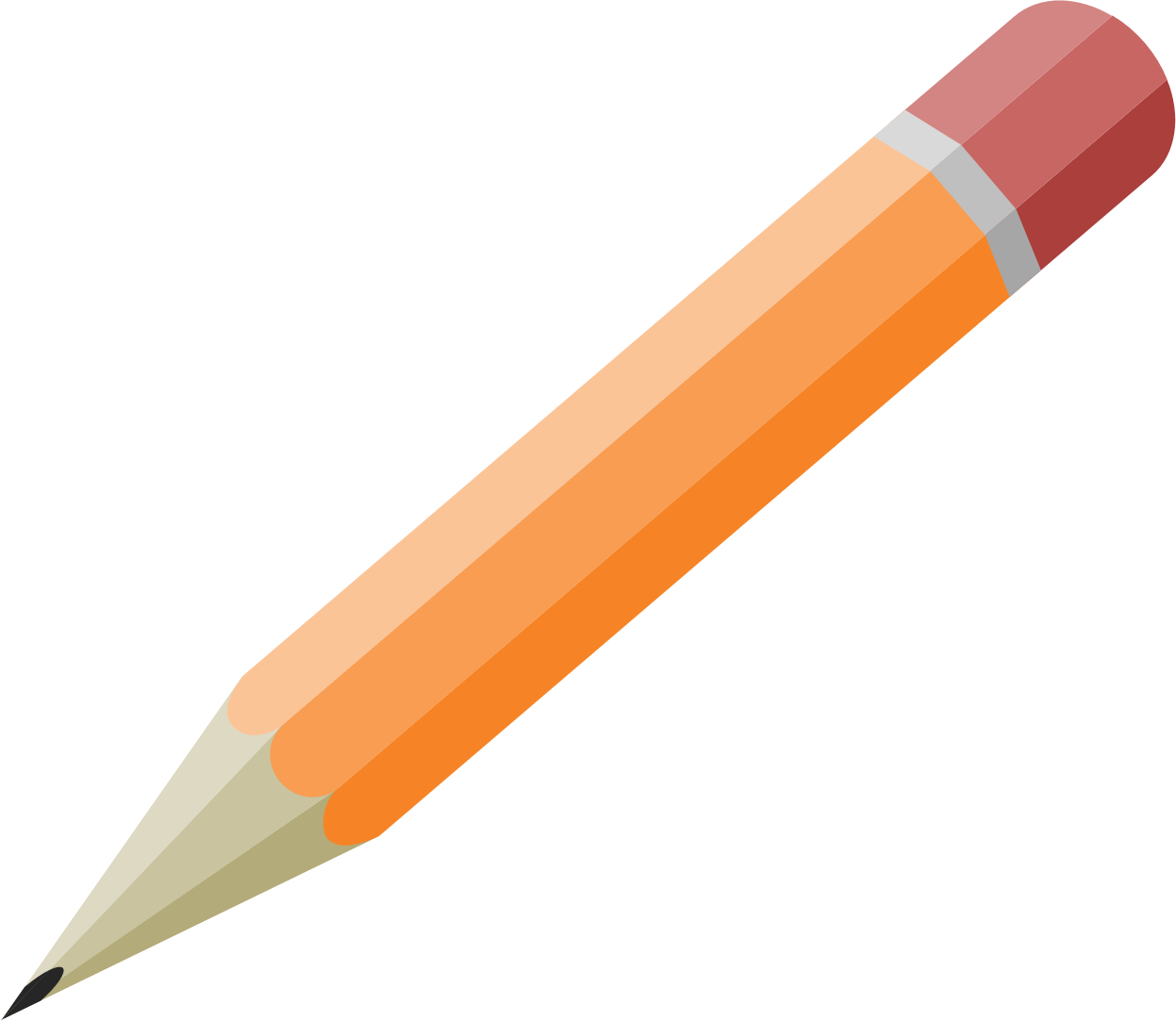 Drawing accessory pencil. Free powerpoint drawings building