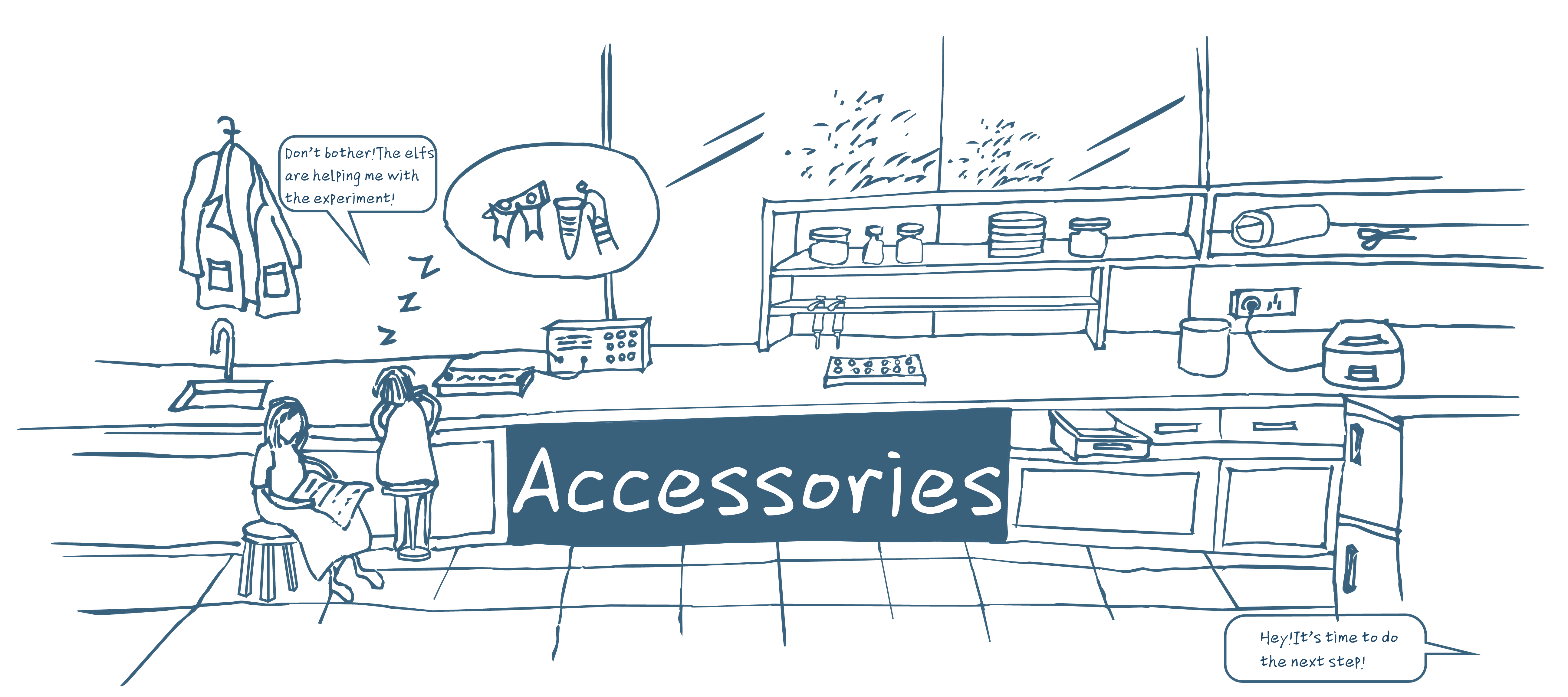 Drawing accessory technical. Team xmu china accessories