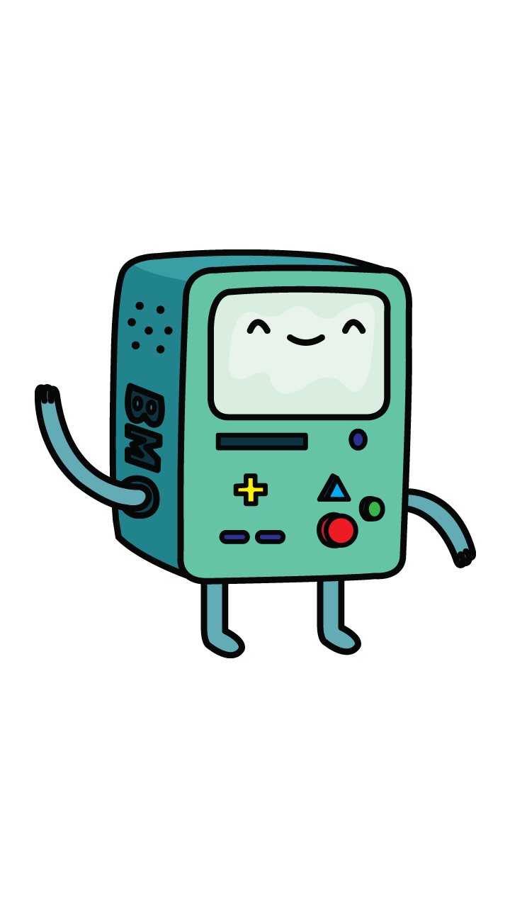 Drawing adventure bmo. How to draw time