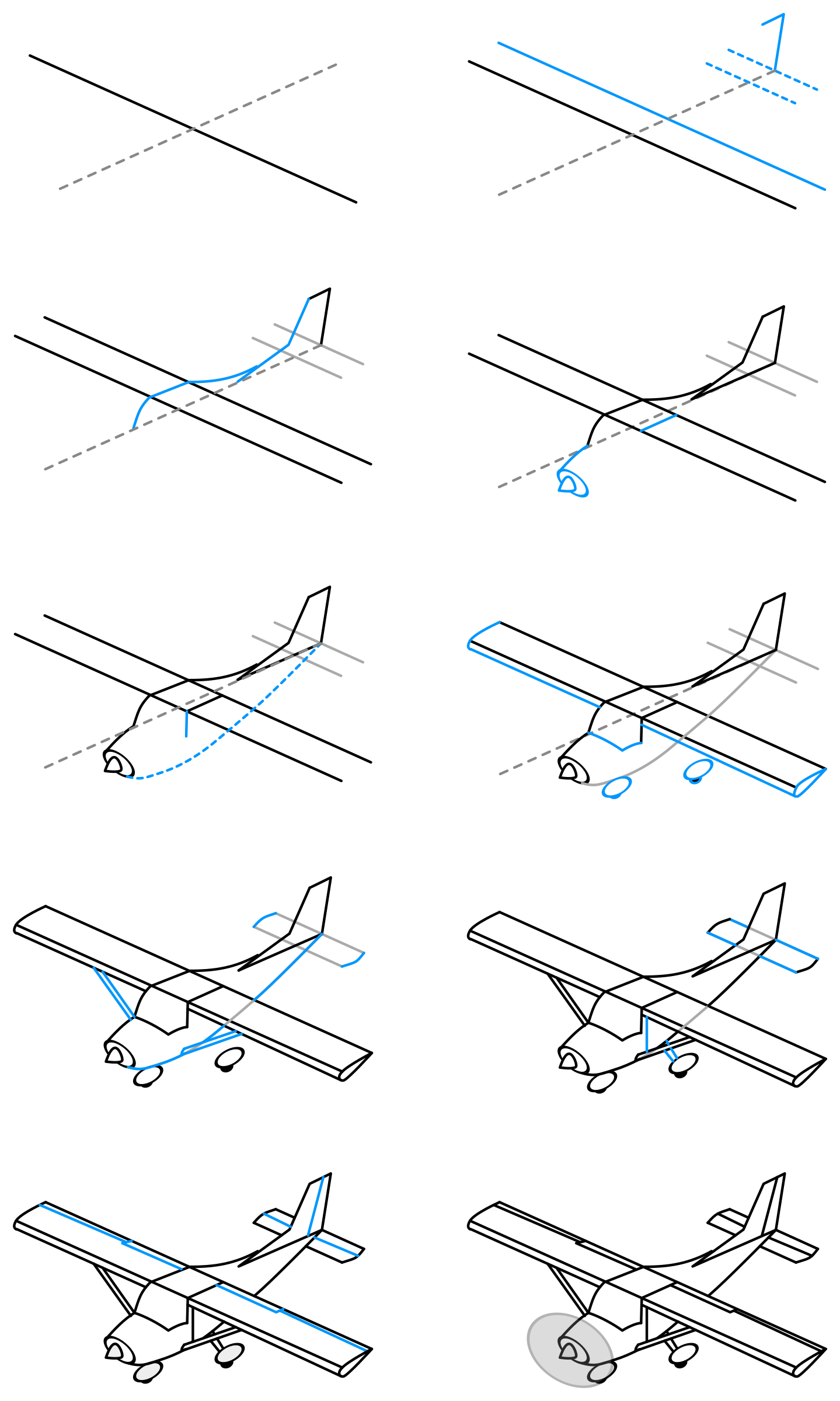 Draw a single engine. Drawing airplane art jpg library stock