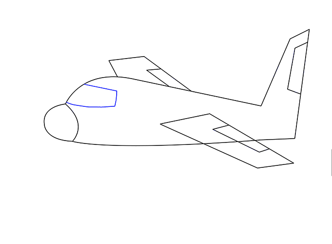 Image group how to. Drawing airplane art image black and white
