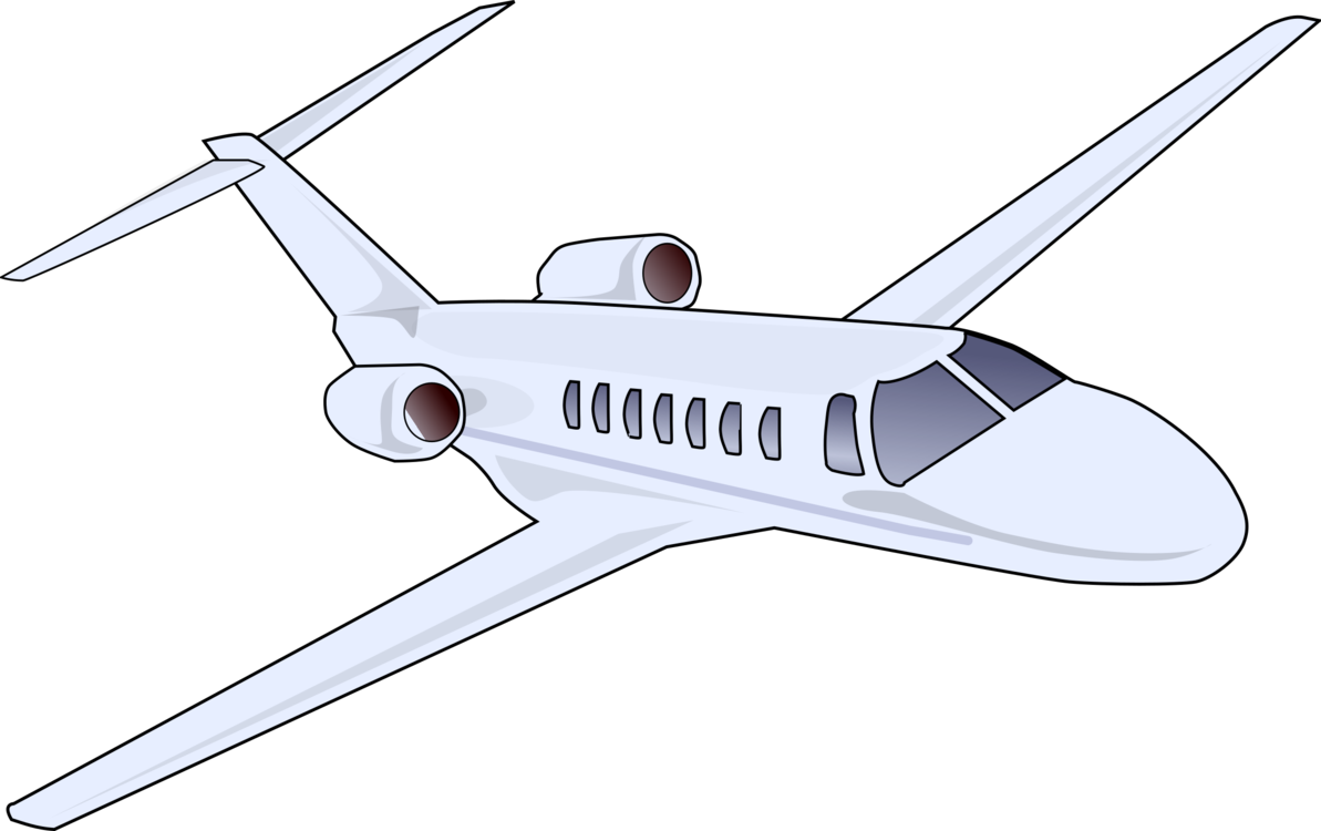 Drawing airplane private jet. Aircraft aviation download free