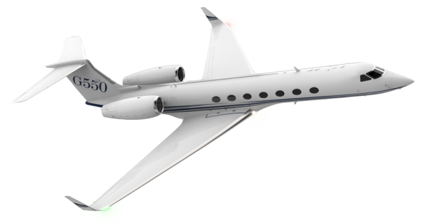 Drawing airplane private jet. Gulfstream aerospace aircraft g