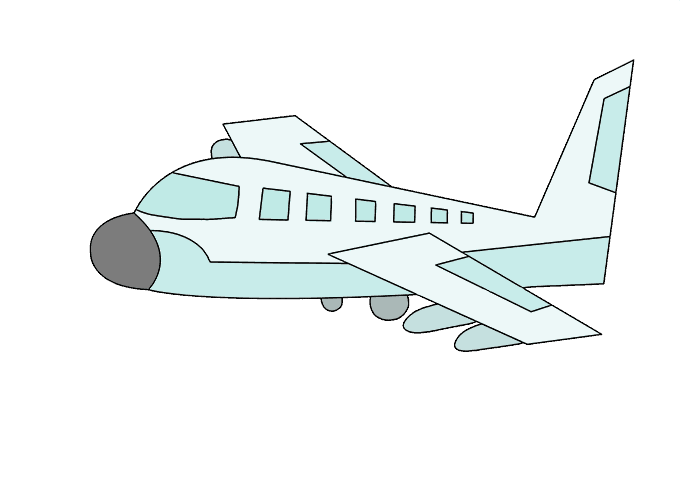 Drawing airplane real plane. How to draw an