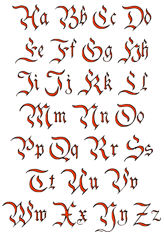 Drawing alphabets 3 d. Tattoo lettering designs best