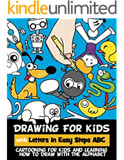 Drawing alphabet teaching. For kids how to