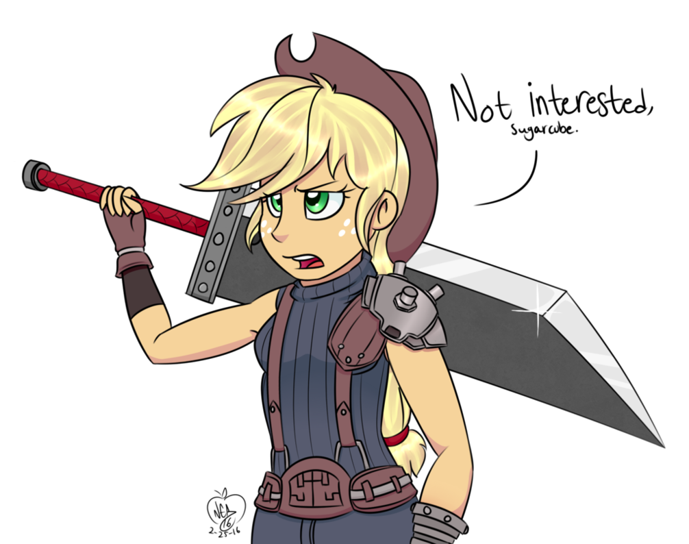 Drawing apple anime. Swordfighter by notenoughapples on