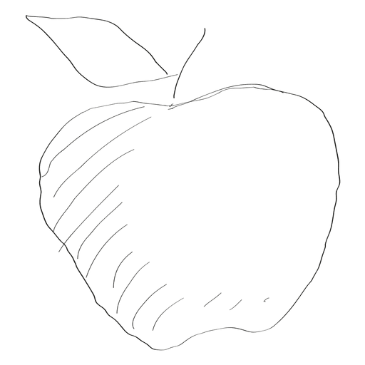 Drawing apple hand drawn. Laptop at getdrawings com