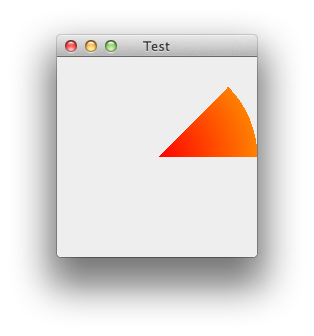 Drawing arcs java. Draw an arc and
