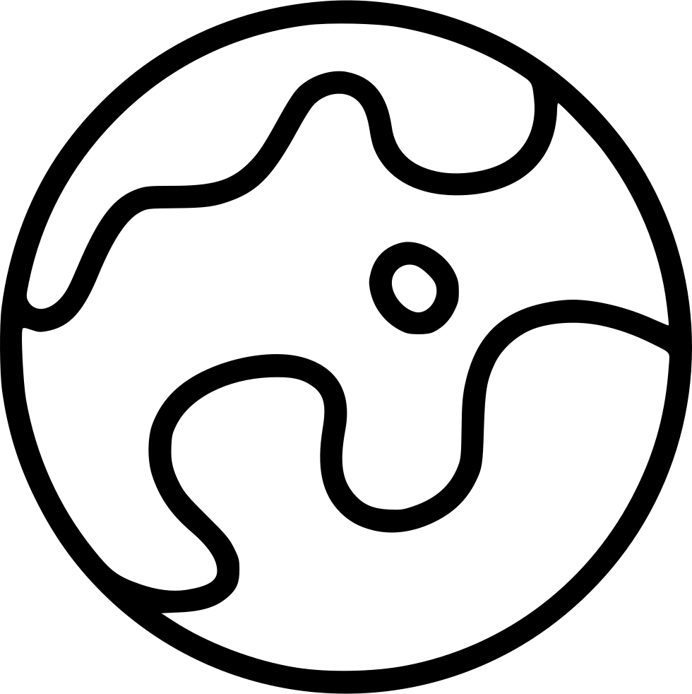 Drawing area cosmos. Earth planet space svg