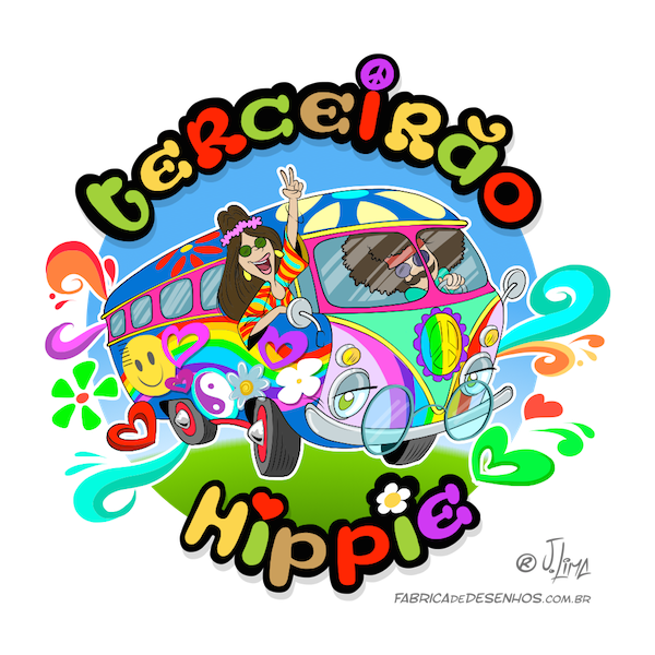 Drawing area hippie. Logo transprent png free