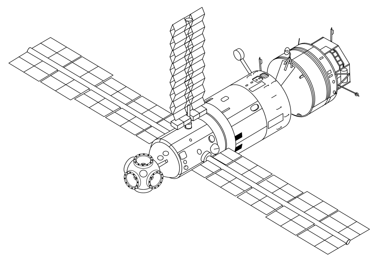 Drawing area hubble telescope. File mir configuration png