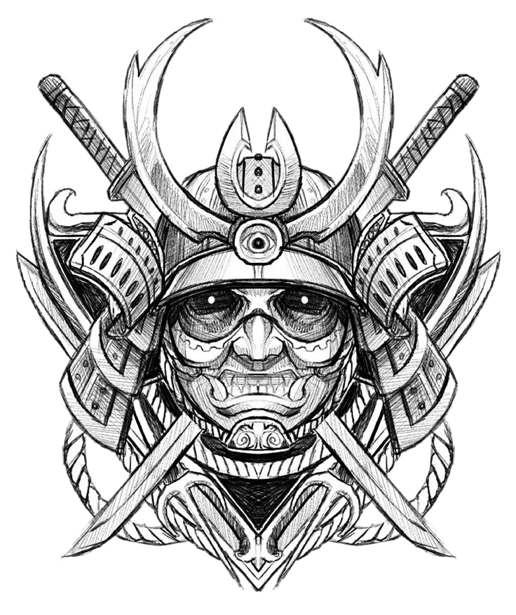 Static drawing ghost. Download free png tattoo
