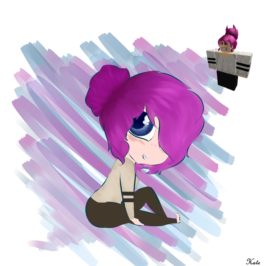 Drawing avatars roblox girl. Wanna request a of