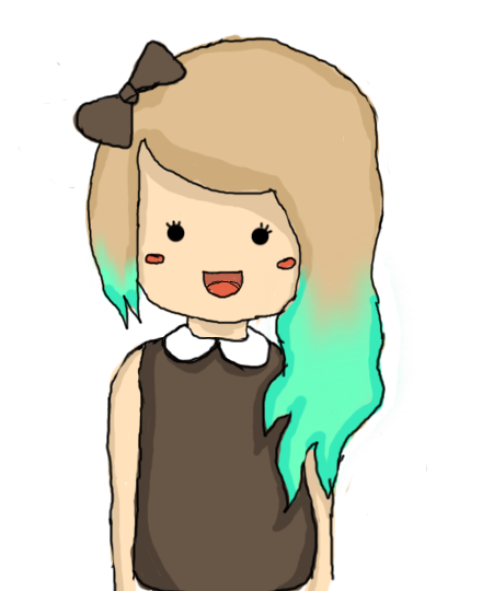 Drawing avatars minecraft girl. Collection of cute