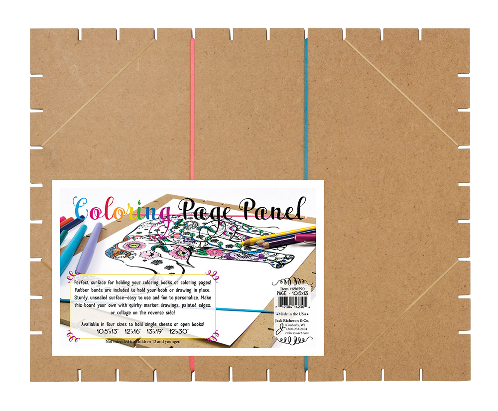 Drawing collages paper. Jack richeson coloring page