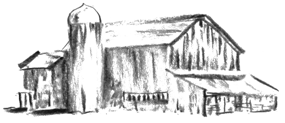 Drawing barns sketching. Nickle creek s story