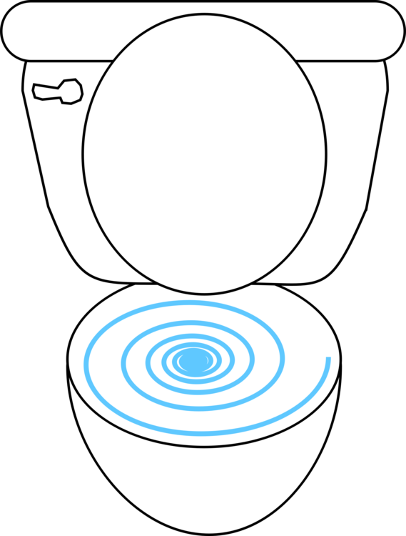 Flush toilet computer icons. Drawing bathroom clip art transparent stock