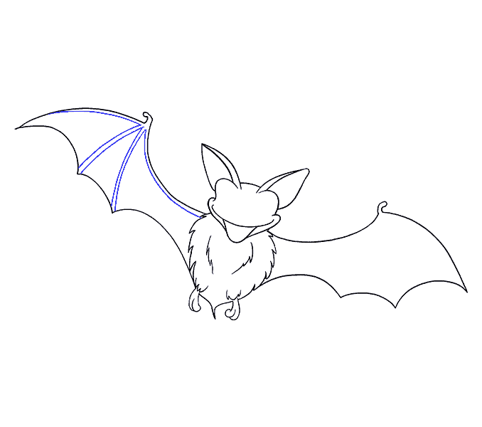 mammal drawing bat
