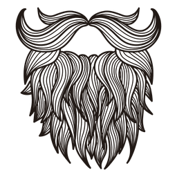 Drawing beard easy. Hipster moustaches beards vector