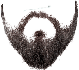 Drawing beard editing. Largest collection of free
