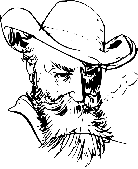 Goatee drawing beard. Man with at getdrawings