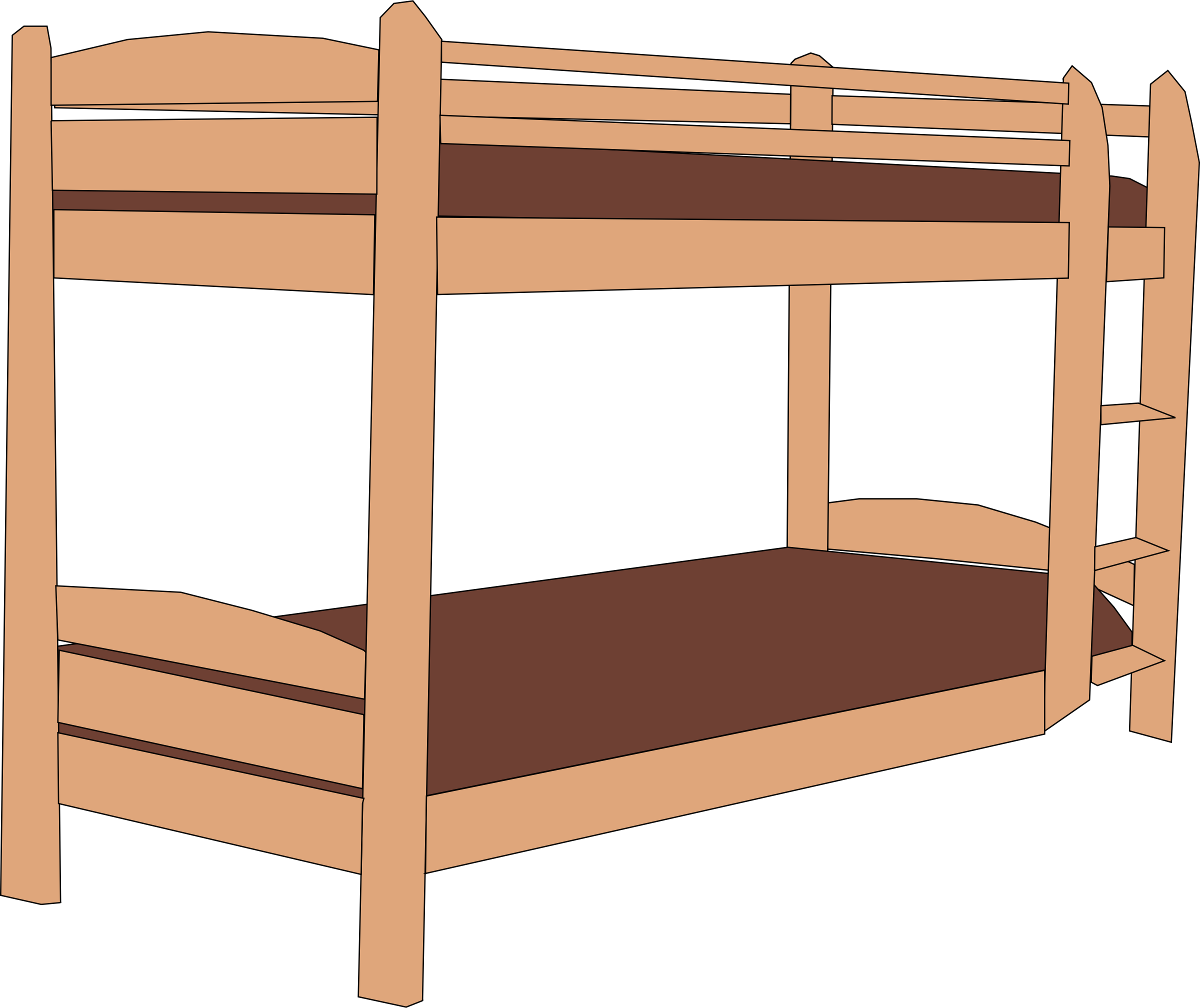 Drawing bed animated. Cartoon pictures of beds