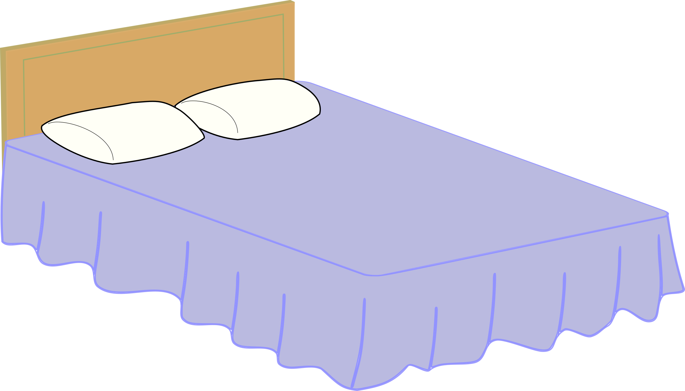 Drawing bedroom animated. Clip black and