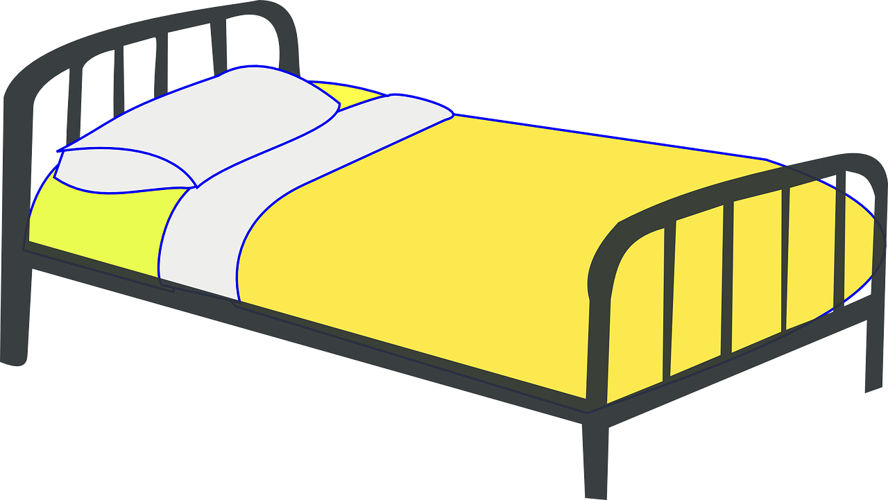 drawing bed single