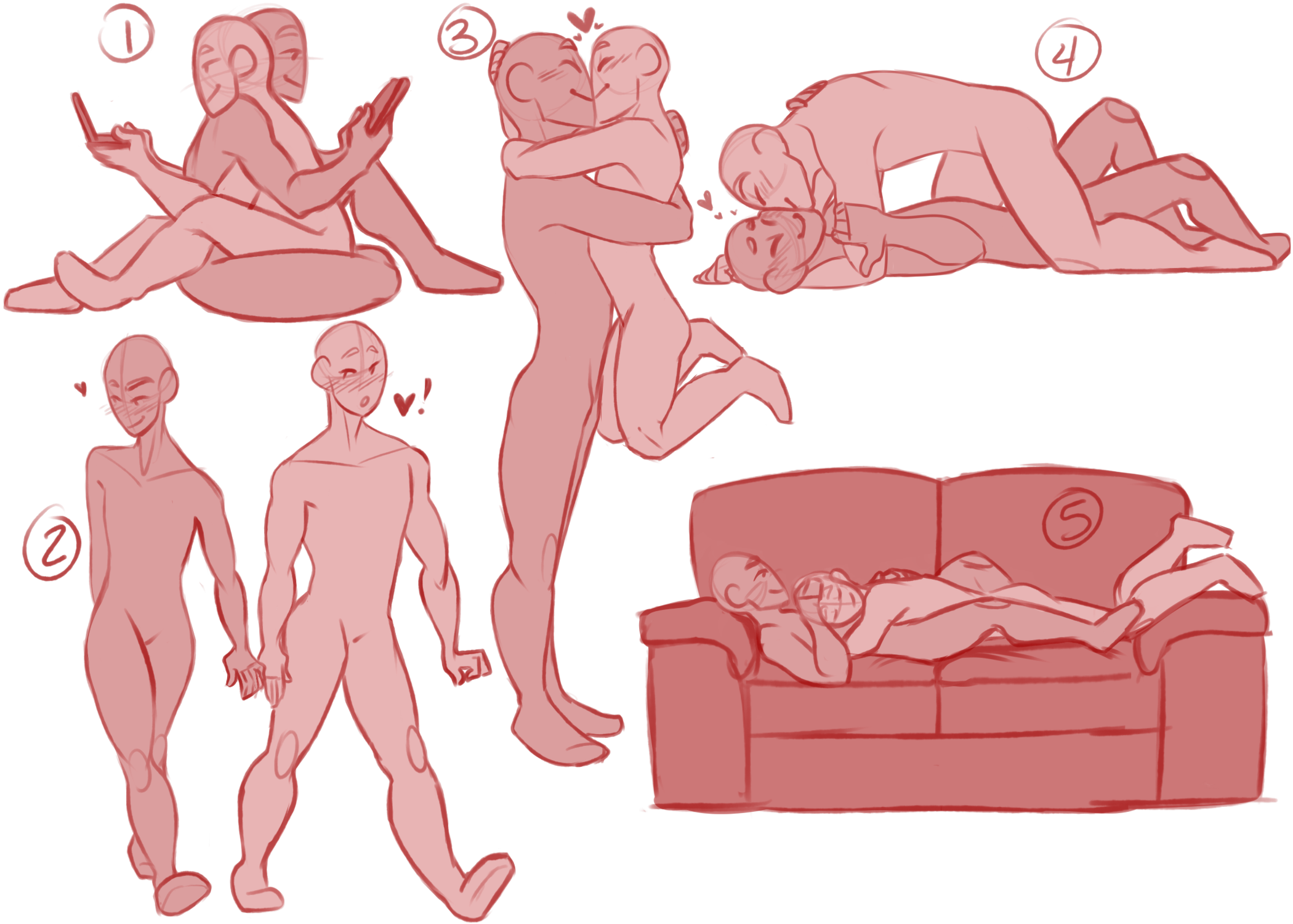 Drawing bed couple. Image result for couples