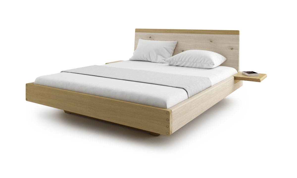 Drawing bed minimalist. New amanta bedroom sleep