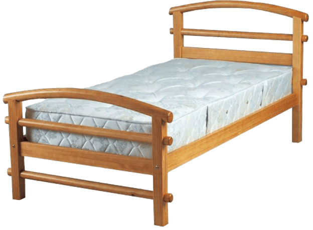Drawing bed wooden. Collection of free transparent