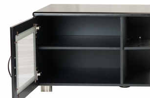 Drawing tv console. Alluring black cabinet nz