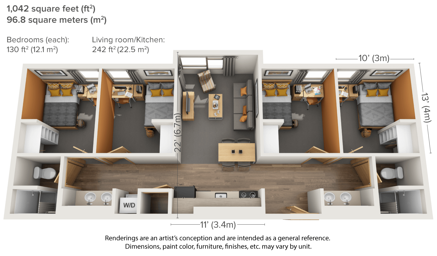 Drawing bedrooms bedroom set. Aggie village apartments housing