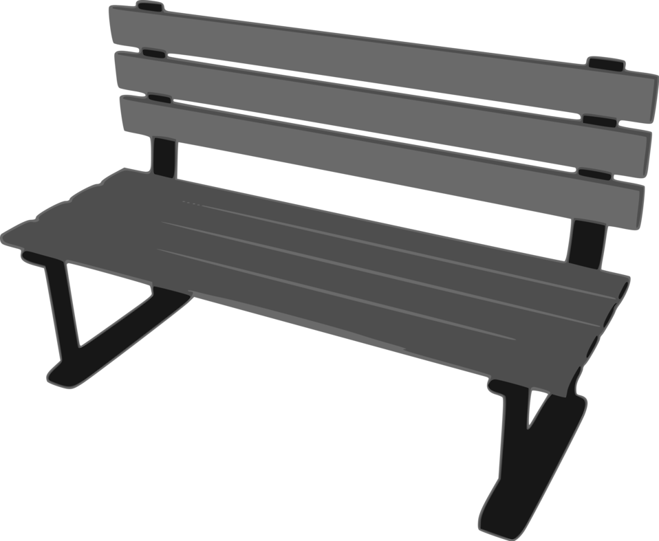Drawing benches. Bench free stock photo