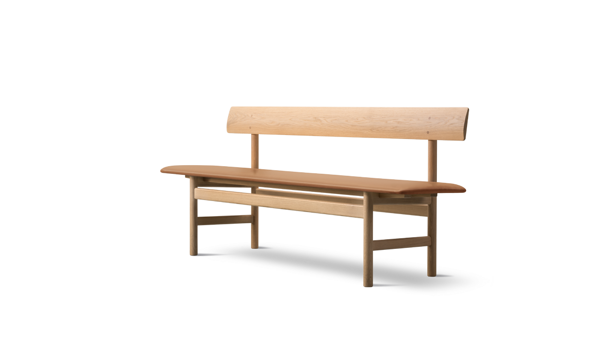 Drawing benches cold. The mogensen bench