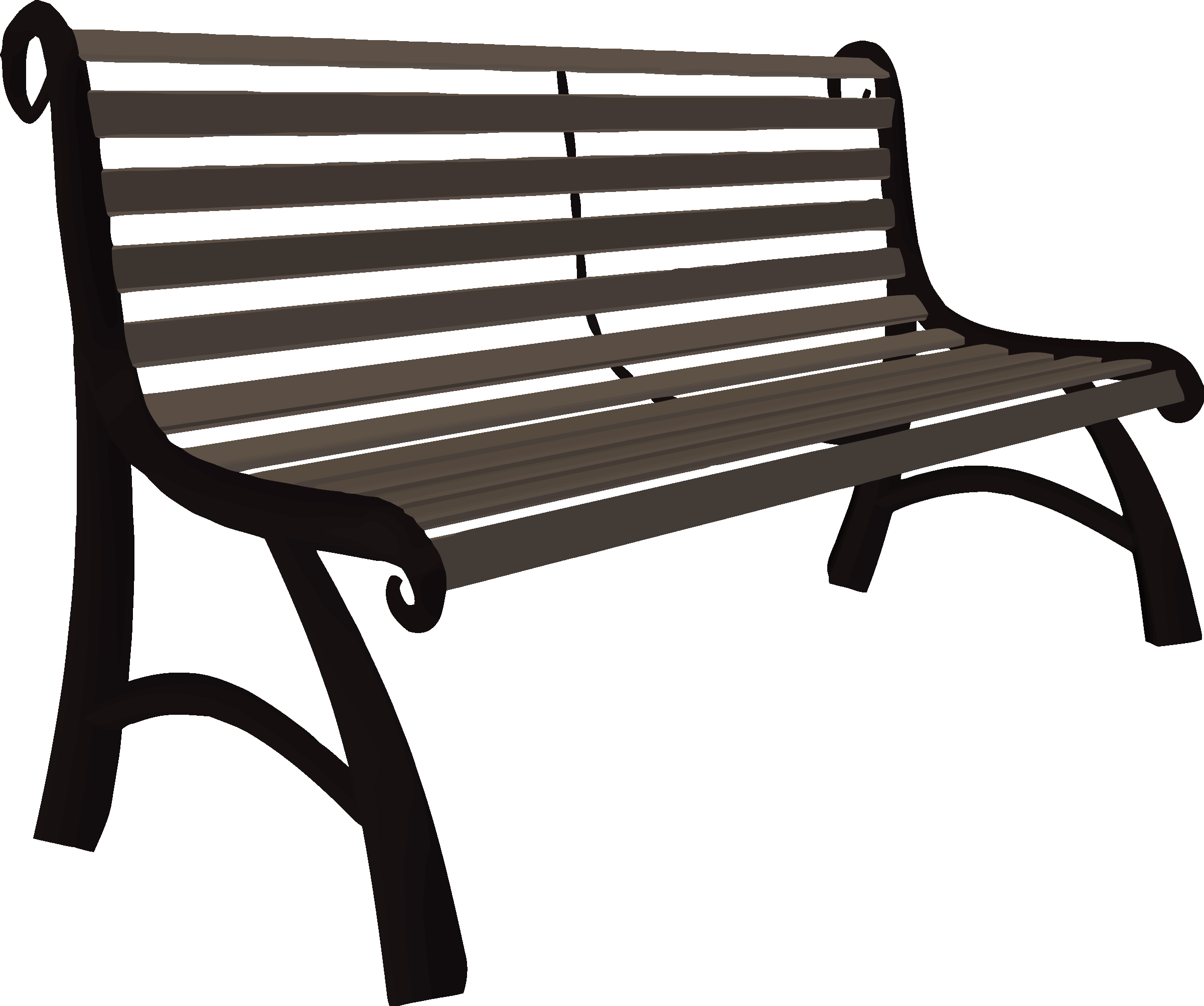 Drawing benches easy. Collection of free clipart
